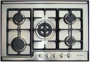 professional gas cooktops