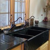 Click to view all Black Sinks & Faucets