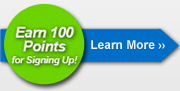 Earn 100 points for signing up.