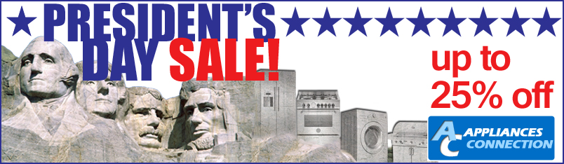 President's Day Sale At AppliancesConnection