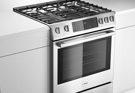 freestanding vs slide in ranges appliances connection. Black Bedroom Furniture Sets. Home Design Ideas