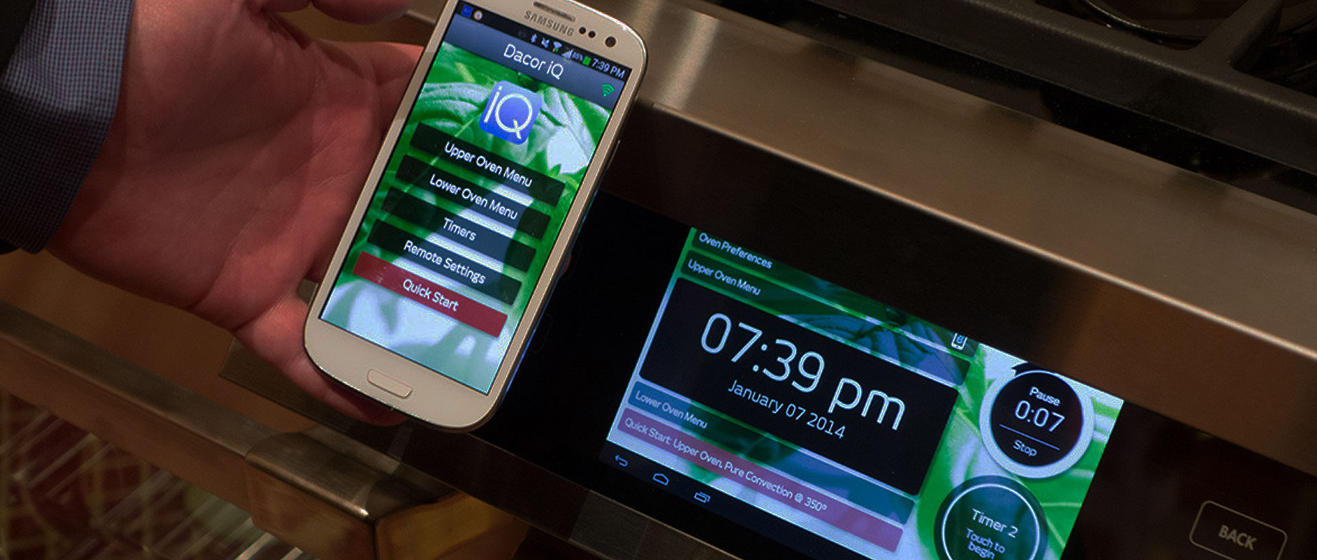 Dacor-Samsung iQ Kitchen App