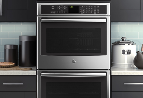 ge profile double wall oven pt9550sfss