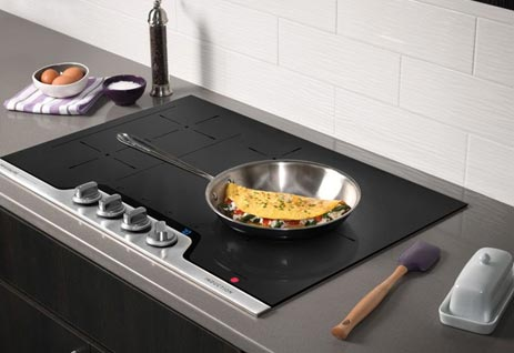 Induction Cooktop Omlette