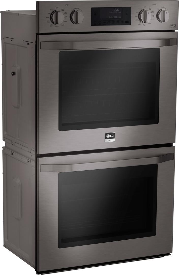 lg studio lswd309bd electric double wall oven