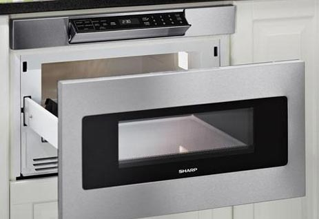 SMD3070ASY Sharp 30 Inch Microwave Drawer
