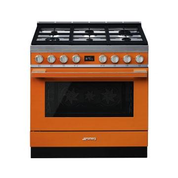 CPF36UGMOR SMEG Portofino Orange