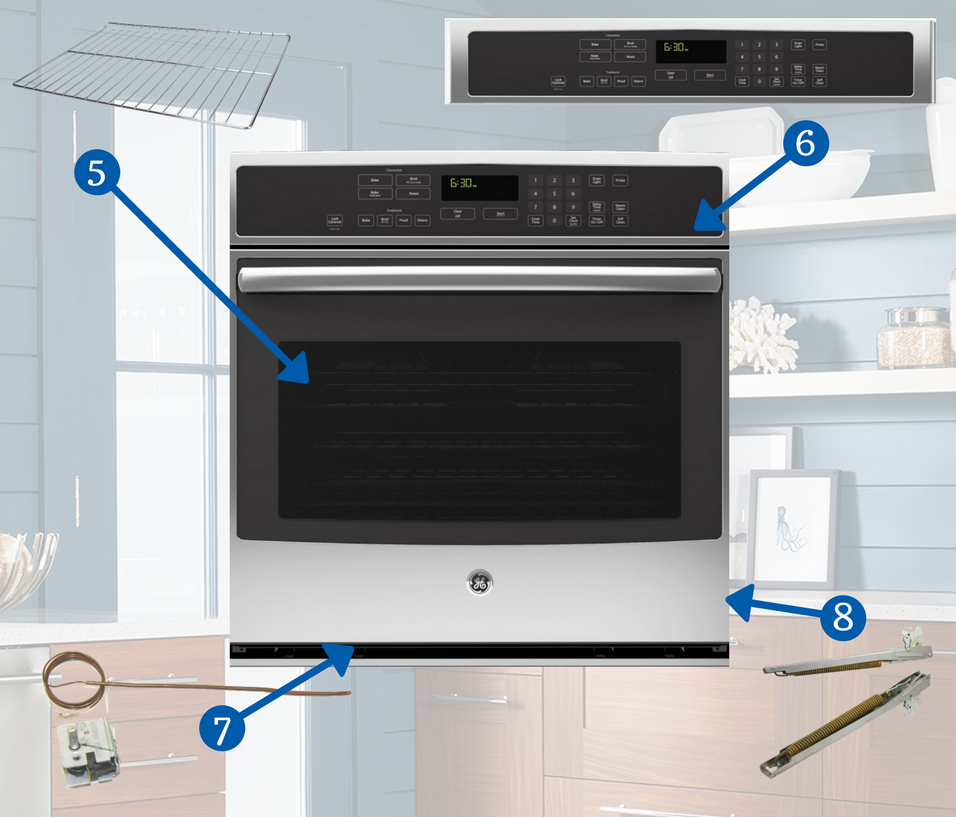 Anatomy Of Appliances Wall Ovens Appliances Connection