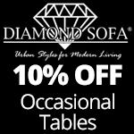 10% Off Diamond Sofa Tables