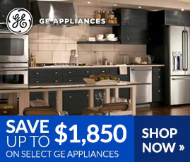 GE - Save Up to $1,850 on Select GE Appliances