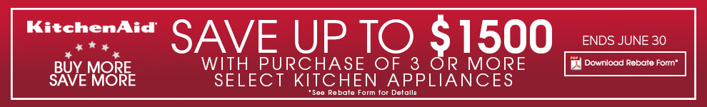 Kitchenaid Builders Special Kitchen Appliance Package