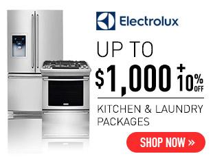 Electrolux - Up to $1,000 + 10% Off Select Electrolux Wave-Touch Appliances