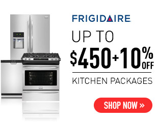Frigidaire - Up to $450 + 10% Off Select Frigidaire Kitchen Appliances