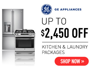 GE Appliances - Up to $2,450 on Select GE Appliances