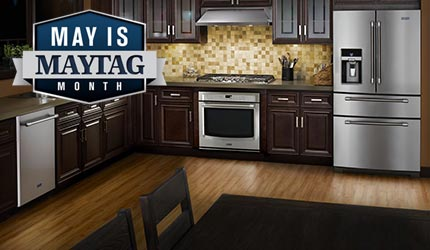 May Is Maytag Month - Save $50 to $750 on Select Maytag Appliances
