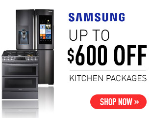 Samsung - Up to $600 on Select Samsung Appliances