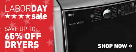 Labor Day Sale - Save Up to 65% Off Select Dryers