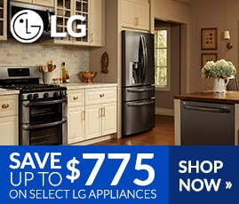 LG - Save Up to $775 on Select LG Appliances