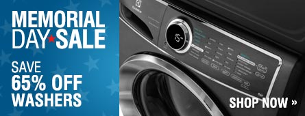 Memorial Day Sale - Save Up to 65% on Select Washers