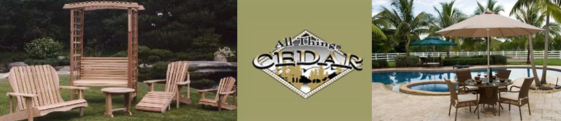 All Things Cedar Patio Furniture