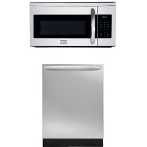 Frigidaire Gallery Dishwasher + Microwave 2 Pieces kitchen appliance package