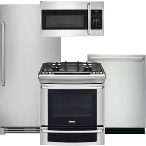 Electrolux Kitchen Appliance Package with All Freezer Refrigerator
