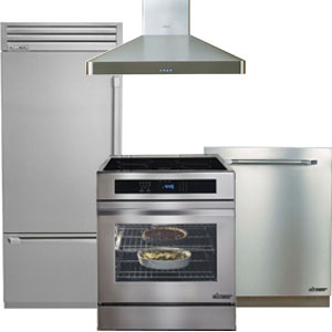 Dacor Stainless Steel Luxury Kitchen Appliance Package