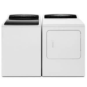 Whirlpool Cabrio White Laundry Pair
