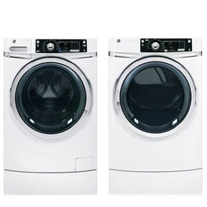 GE Perfect Height Laundry Pair