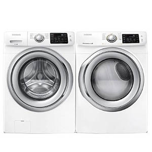 Samsung Washer Dryer Value Pair in White
