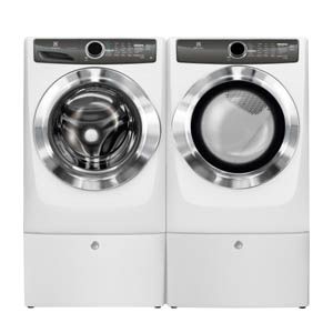 Electrolux LuxCare Perfect Steam Washer and Dryer Pair