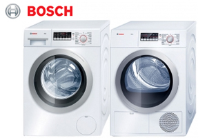 Bosch WAP24201UC Front Load Washer and Dryer