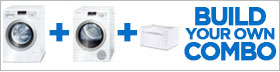 Bosch Axxis White Laundry Pair