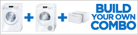 Bosch Ascenta White Laundry Pair