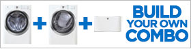 Electrolux IQ-Touch White Laundry Pair