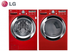 LG WM3250HRA Front Load Washer and Dryer