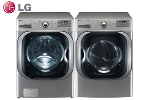 LG WM8000HVA Front Load Washer and Dryer