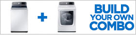 Samsung Appliance White Laundry Pair