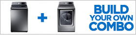 Samsung Appliance Stainless Platinum Laundry Pair