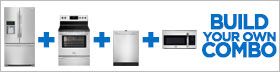 Frigidaire Gallery Stainless Steel 4 Piece Kitchen Package
