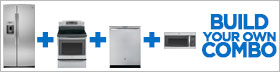 GE Profile Stainless Steel 4 Piece Kitchen Package