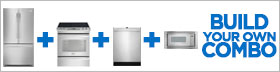 Frigidaire Professional Stainless Steel 4 Piece Kitchen Package