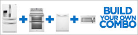 Whirlpool White 4 Piece Kitchen Package
