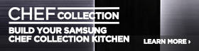 Samsung Appliance Chef Collection Stainless Steel 4 Piece Kitchen Package