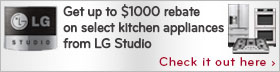 LG Studio Stainless Steel 5 Piece Kitchen Package