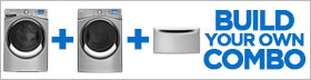 Whirlpool Smart Silver Laundry Pair
