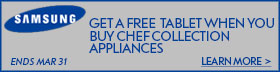Samsung Appliance Chef Collection Stainless Steel 3 Piece Kitchen Package