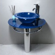 Click to view all Blue Sinks & Faucets