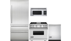 An In-Depth Look At A Viking Four-Piece Kitchen Appliance Package