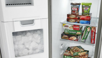 in-door ice storage
